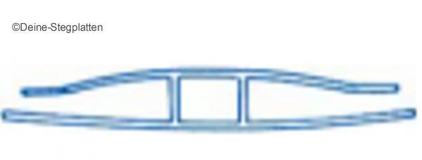 deine stegplatten h verbindungsprofil f r 4 mm stegplatten. Black Bedroom Furniture Sets. Home Design Ideas